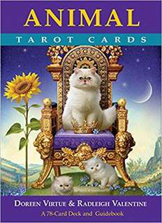 Animal Tarot Cards : A 78-Card Deck and Guidebook By (author)  Doreen Virtue