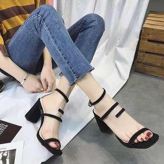 Suede High Heels 8.5cm