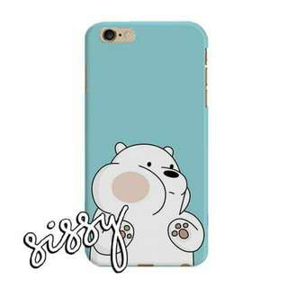 [WBBEARS2] WE BARE BEARS PHONE CASE