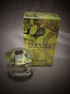 Versace Yellow Diamond 5ml (miniatures collection) - for women