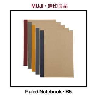 MUJI Ruled Notebooks (B5)