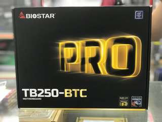 Biostar TB250-BTC LGA 1151 ATX Motherboard for Cryptocurrency Mining (BTC)