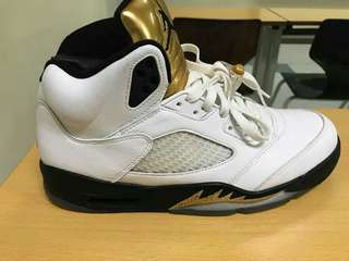 Jordan 5 Gold medal