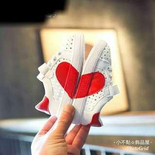 韓版鏤空愛心軟底學布鞋❤6-12個月❤運動鞋❤氣墊鞋❤軟底鞋❤