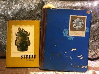 Ancient Stamp Books