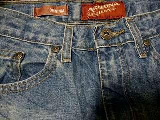 Arizona Jeans Girl waist 26/28 Non Stretch