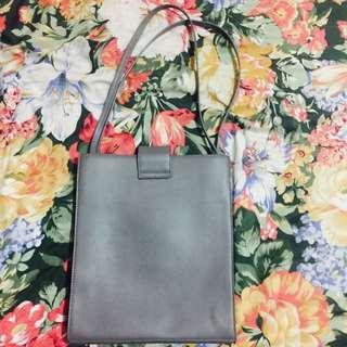 Gray Slim Bag