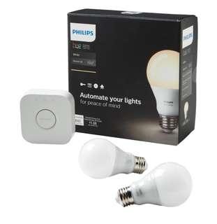 Philips Hue starter kit 2 bulbs (Google ready)