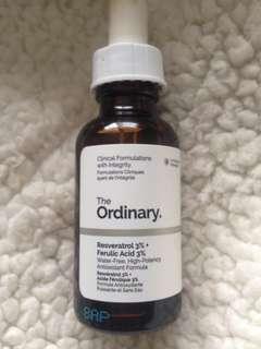 The Ordinary skincare serum