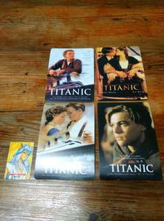 Titanic Plastic Post cards SET