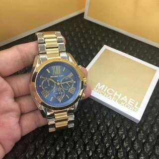 MK AUTHENTIC 2TONED BLUE FACE