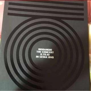 bigbang 0to10 concert演唱會in seoul dvd