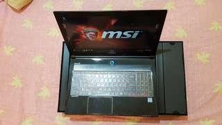 微星MSI GS60 6QD 高階電競筆電 無維修 功能正常16G記憶體 1TB加128G SSD