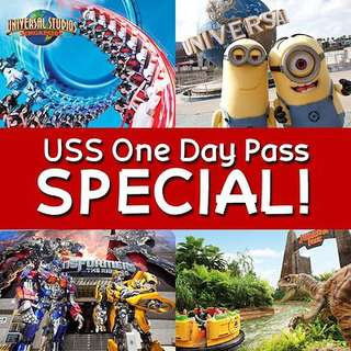 Universal Studios available on 25,26,27 may
