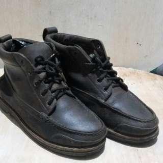 sepatu boots land rover vintage