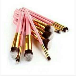 10 PCS Kabuki Makeup Brushes