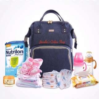 Diaper Bag Large Capacity Baby Bag Travel Backpack
