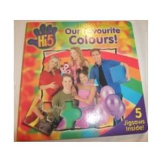 Hi 5 - Our favourite Colours Jigsaw Book