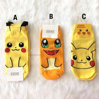 Pokemon Korean Ankle Socks (1pc)