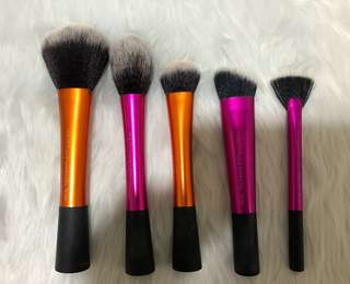 Real Techniques 5 Brushes