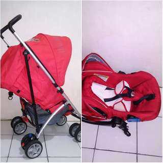 Stroller with Car seat Cocolatte
