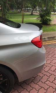 BMW F30 Carbon Fibre Boot Spoiler