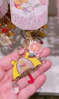 🚚 日本🇯🇵迪士尼 小熊維尼 鑰匙圈