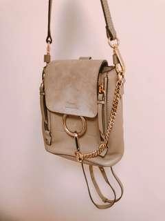chloe mini back pack