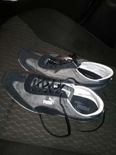Puma wedge sneakers, size 38 (7.5)