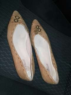 Seychelles leather pointy flats, size 7.5
