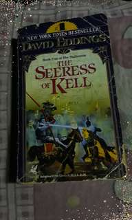 "David eddings ""the seeress of kell"""
