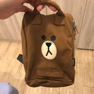 🚚 Line熊大寵物自背包