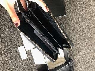 Authentic YSL Zip Through Wallet