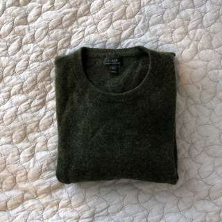 J crew 100% Italian cashmere men's sweater