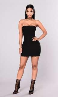 Fashion Nova ribbed mini dress