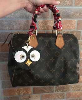 ON SALE Authentic Louis Vuitton Speedy 25 Bag