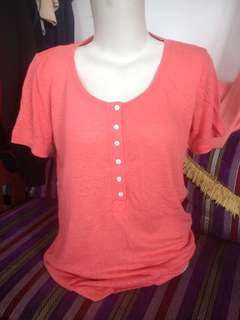 Blouse peach #mausupreme