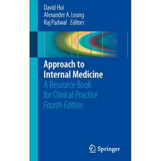 Approach to Internal Medicine 4th edition
