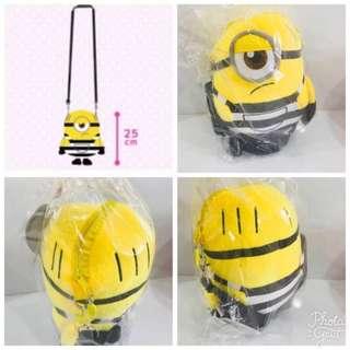 🚚 (Clearance sales) Minion shoulder plush pouch