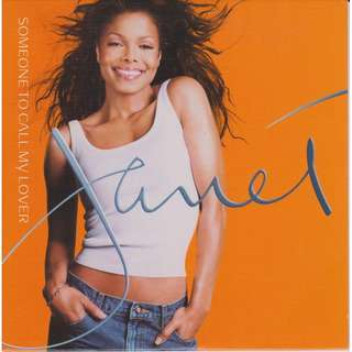 Janet Jackson - Someone To Call My Lover (CD Single)