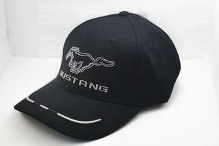 Motorsport Embroidery Mustang Cap Cotton Breathable Adjustable Unisex Sport