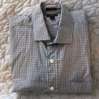 J crew men's button up long sleeve shirt #10andunder