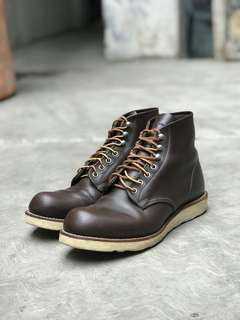 Redwing shoes boots 8134 brown made usa