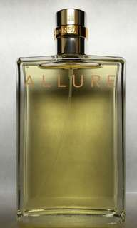 Chanel allure eau de toilette spray tester no box 100ml genuine