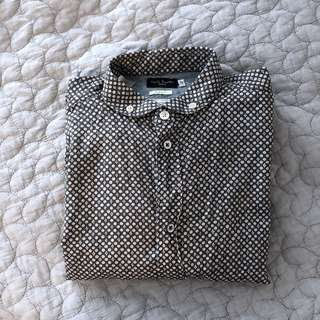 Men's Paul Smith button up long sleeve shirt