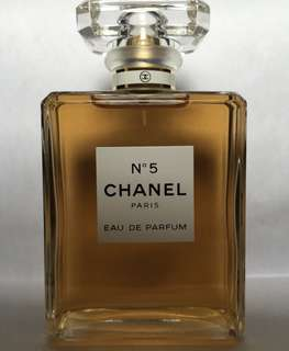 Chanel no.5 eau de parfum 100ml new Tester no box