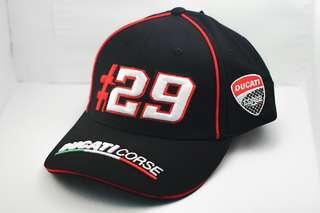 Motorsport Embroidery Ducati Corse Cap Cotton Breathable Adjustable Unisex Sport