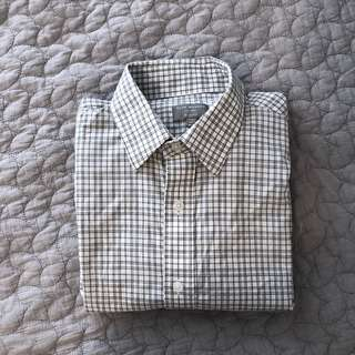Club monaco slim fit long sleeve shirt