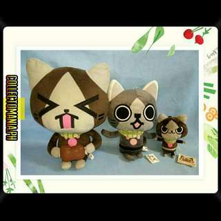 Monster Hunter MERAROU plushies