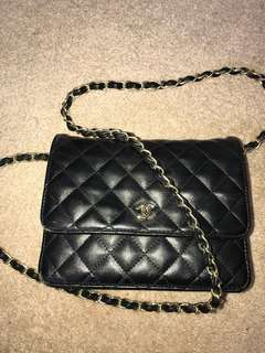 Chanel side chain purse